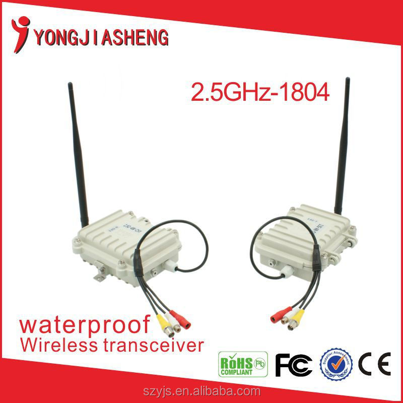 Manufacture 2.4GHz 4W waterproof 2km wireless transmitter and receiver 2.4GHz-1804