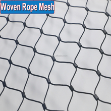 Black Oxide Woven Flexible Stainless Steel Wire Cable Zoo Fencing Rope Mesh