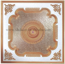 Luxury square ceiling medallion types of ceiling finishes
