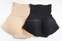 Ladies Breathable Sponge Padded Buttocks Hip Enhancing Girls Seamless Panties