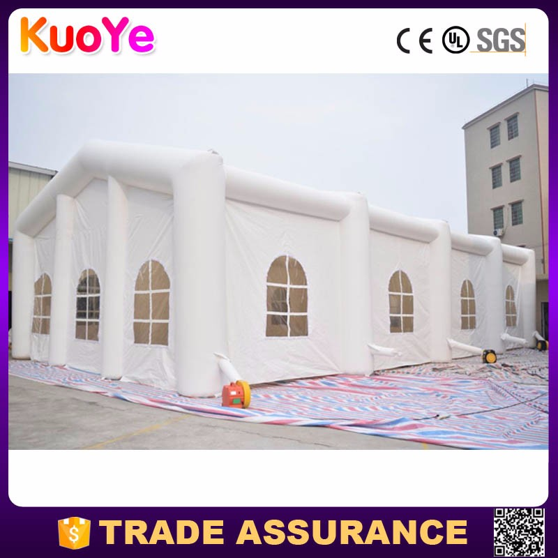 Commercial grade factory price marquee inflatable party tent for sale