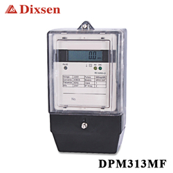 Single phase digital kilowatt hour meter