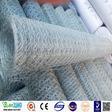 Reverse twister galvanized after weaving or galvanized before weaving hexagonal wire mesh