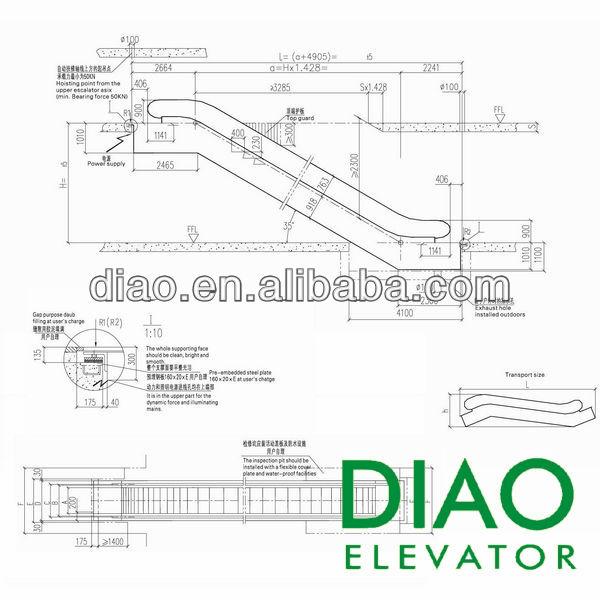 Al aire libre de alta resistencia transporte p blico for Escaleras dielectricas precios