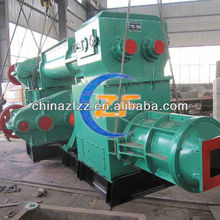 Fired clay brick machinery JKR55 Double stage vacuum extruder