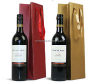 Custom fashion wine bottle paper bag/wine paper bag/wholesale paper wine bags(YC3318)