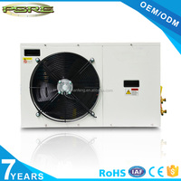 3HP AC freezer condensing units for high and middle tempereture with AC fan motor