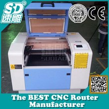 Laser Aluminum Copper Cutting Machine,High Speed SD6090 With Exhaust