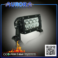 Motorcycle lighting system IP69K 4'' 40W dual row 4wd led light bar