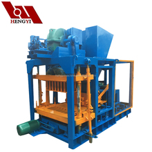 compressed earth blocks making machine/auto press block machine/hydraulic block making machine price QT4-22