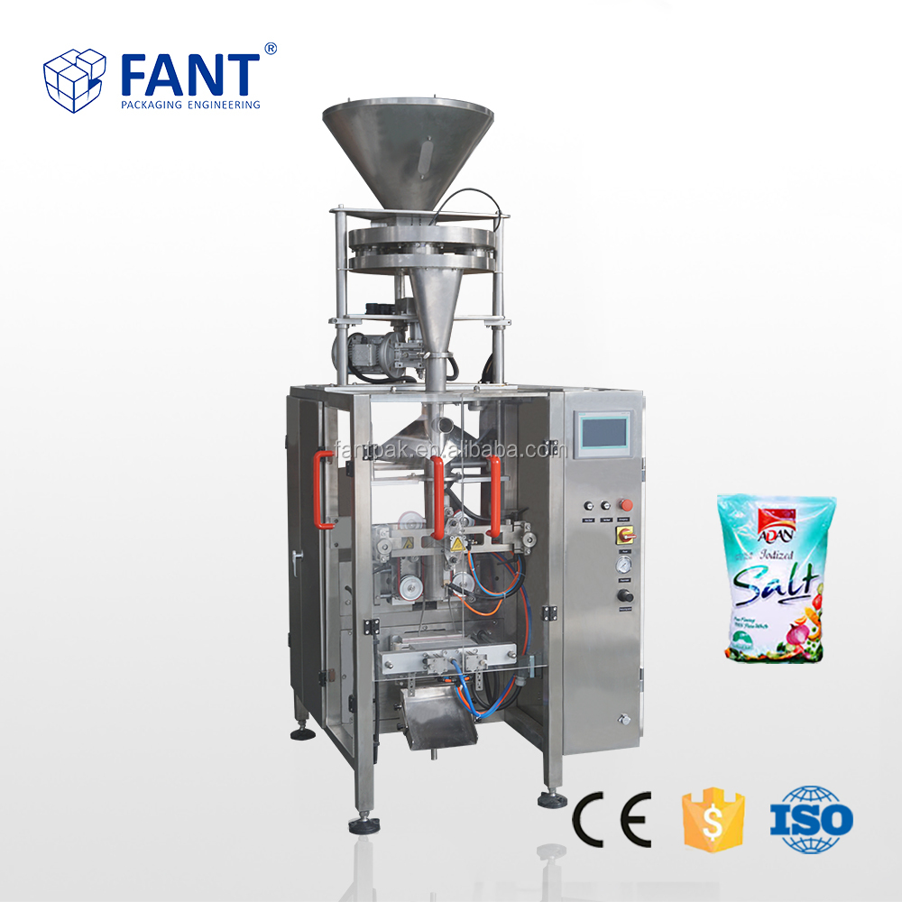 Vertical Automatic Salt Sugar Sachet Pouch Packing Machine