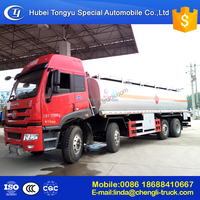 8*4 high price competitive Large 31000Liters tanker capacity fuel tank truck HOT SALE