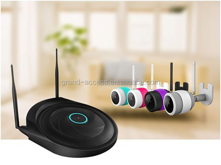 WIFI camera Kit / Wi-Fi wireless hard disk recorder With Gview P2P network transmission engine