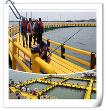 Anti wave deep sea farming sea cages aquaculture net cages fish farming cage price