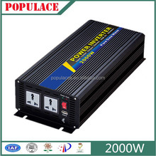 24V to 220V Pure sine wave solar power inverter 2000w