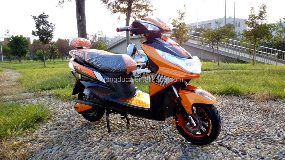 2015 HONGDU 60V 1000W electric moped with pedal