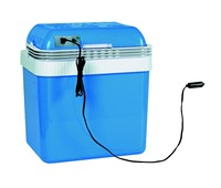 electric cooler box 24L AC DC thermo peltier cooling heating for car and home