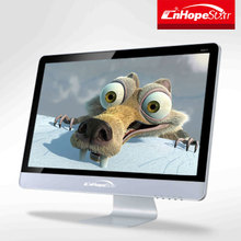 Wide view angle 24 inch large screen lcd monitor with resolution 1920x1080