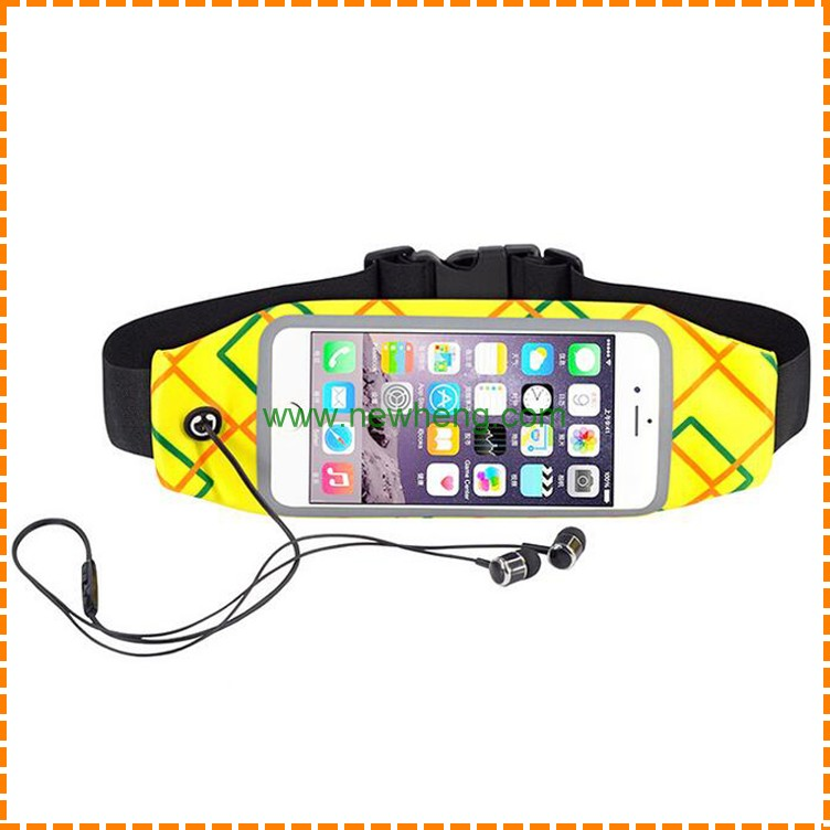 Waterproof running sport pocket case for iPhone 7