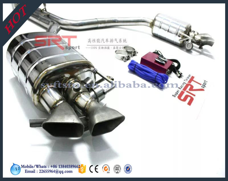 steel exhaust muffler/exhaust pipe/tail pipe for S5