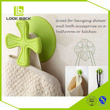 Four-leaves Magic TPU Adhesive Wholesale Coat Hooks Suction Cup