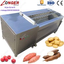Stainless Steel Potato/Cassava Washing and Peeling Machine/Carrot Washer