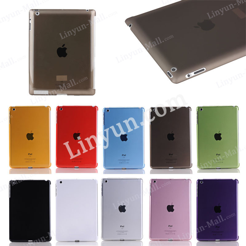 Crystal hard cases for iPad 2 3 4,for iPad 2 3 4 PC case