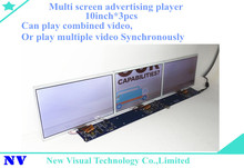 tft lcd 10inch*3screen free sync video bar memorias medellin