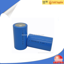 3.6V 3000mAh Li-ion battery 22650