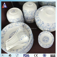 bone china dinner sets with Chinese style printing