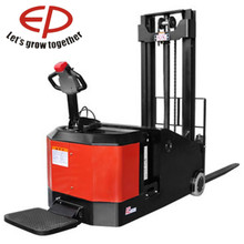 increase both uptime and bottom line 1500kg construction forklift stacker/1.5ton counterbalance electric pallet stacker