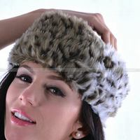 Bottom price promotional professional manufactuer Faux Fur Muslim headband