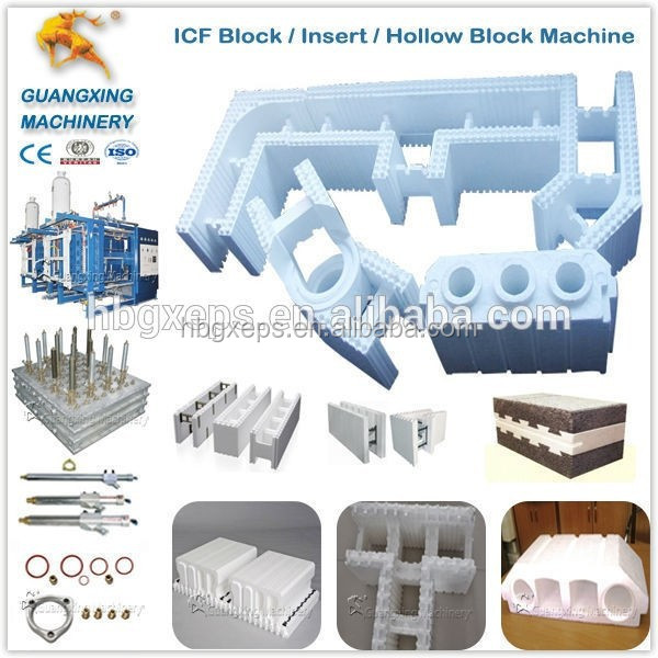 Cost effective multifunctional eps icf block production for Icf pricing