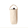Personalize single bottle kraft paper wine bag
