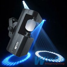60W rotating gobo LED scanner / professional dj indoor stage lighting