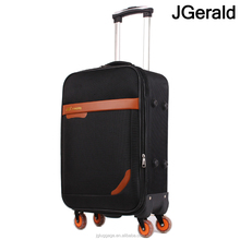 Layle 4 wheel water-proof 600D softside polyester trolley case luggage