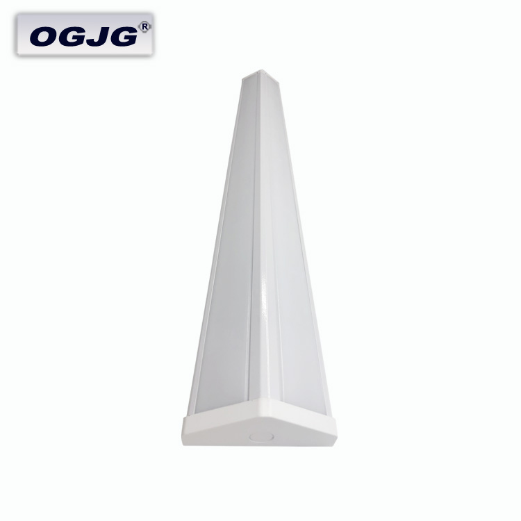 Energy Saving airport Storehouse left and right Pendant Lamp Nordic 0-10V dimming Aluminum led batten Lighting Fixture