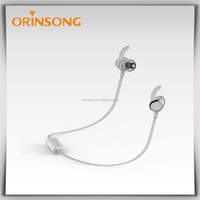Private mould strong Bass top rated bluetooth earpiece with ear hook