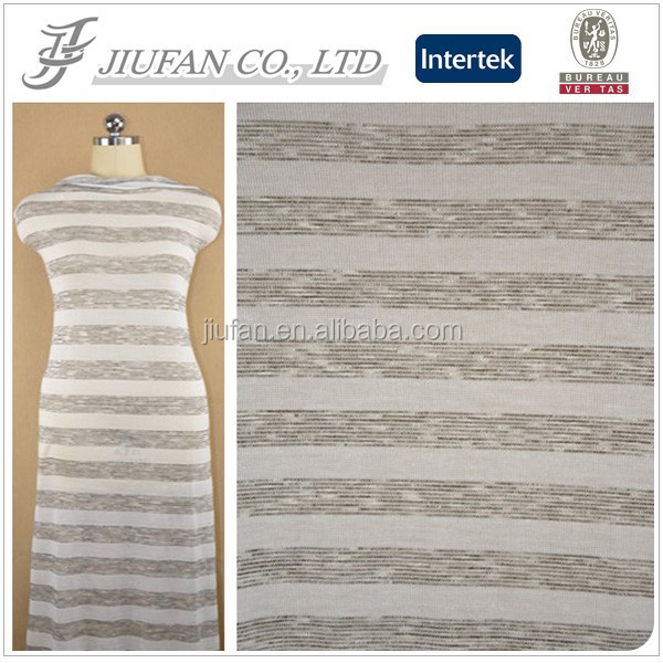 Jiufan Textile Popular Sold Hacci Yarn Dyed Knitting RT Fabric Supplier Offer Competitive Price For Sweater
