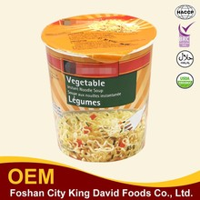 Instant Cup Vegetable Flavour Instant Rice Noodles
