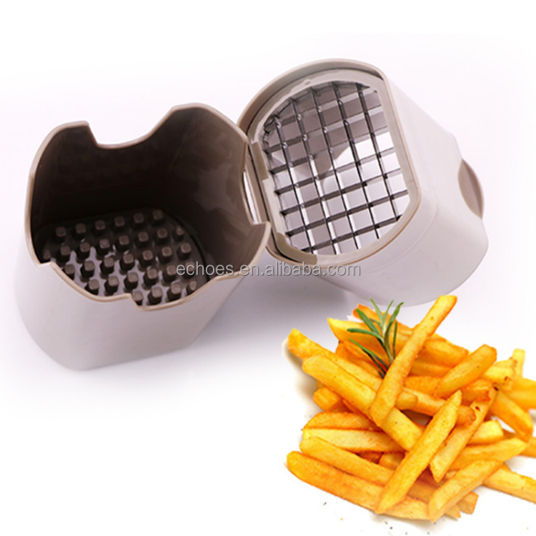 Useful and manual fruit and vegetable cutting tool potato chip french fries cutter