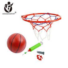 sport toy low price official basketball ring size with ball inflator