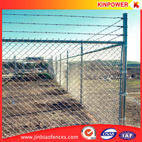 Relatively Low Cost Galvanized and PVC Coated Chain Link Fence