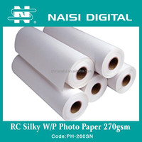 Naisi inkjet media luster rc photo paper 270gsm