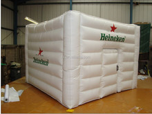 2014 hot sale travelling custom cheap cube giant inflatable medical tent/promotion infaltable tent for sale
