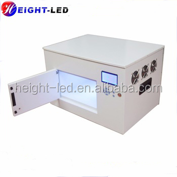HTLD small uv cure oven 365nm glue curing led uv light
