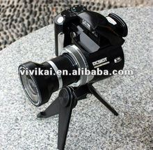 "vivikai fational wide angle lens digital camera with 12MP,2.4"" TFT LCD and 4X digital zoom (DC510T)"