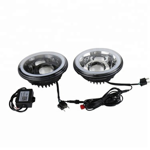 RGB Angel Eye Halo Ring Bluetooth Controlled Cars With Led Headlights