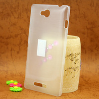 Wholesale hard pc cover case for sony xperia c s39h c2305