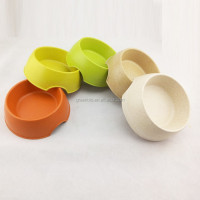 Bamboo fibre feeder, dog bowl
